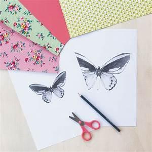 Papillon Papier De Soie : je confectionne des papillons en papier prima ~ Zukunftsfamilie.com Idées de Décoration