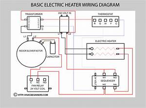 Basic Heat Pump Schematic  Basic  Free Engine Image For
