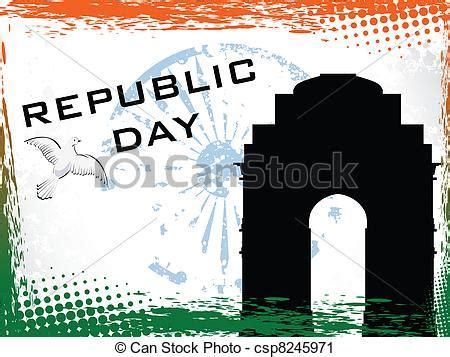 vector illustration  republic day vector illustration