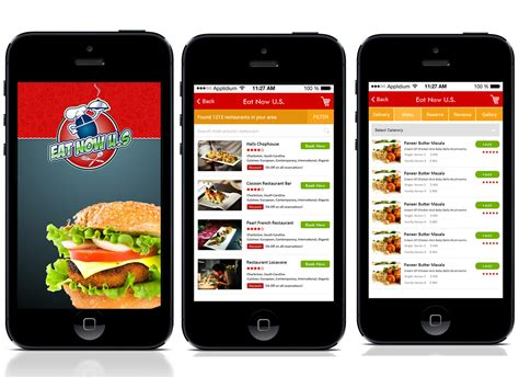 application cuisine android multi restaurant food delivery mobile app development india