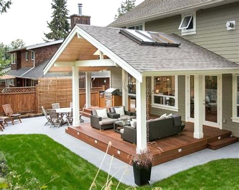 Back Porch Designs For Houses by Back Porch Ideas Also House Designs Enclosed Patio Covered