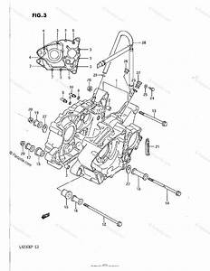 Suzuki Atv 1987 Oem Parts Diagram For Crankcase