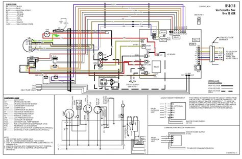 goodman air handler thermostat wiring diagram goodman air handler wiring diagram fuse box and wiring