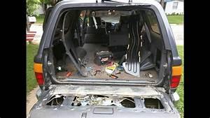 Rear Window Repair On 90-95 4runner Toyota