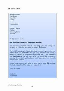 Cover Letter For Jobs Not Advertised Transition Year Work Experience Voc Preperation