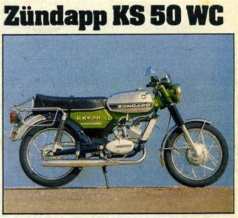 zündapp ks 50 wc das motorrad un comparatif des 50cc de 1976 zseft zundapp