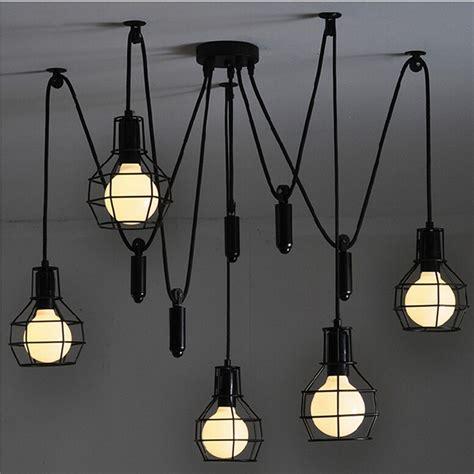 Indoor Herb Garden Light by Vintage Industrial Nordic Loft Edison Bulb Chandelier