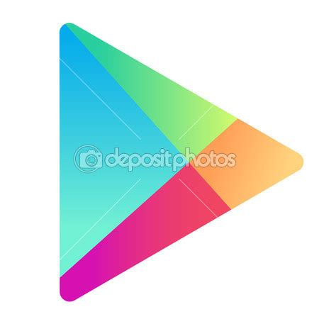 google play icon vector images android phone google
