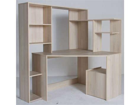 conforama meuble bureau bureau d 39 angle groove coloris acacia vente de bureau