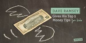 dave ramsey gives his top 5 money tips for imom
