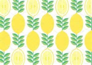 Lemon Summer Background