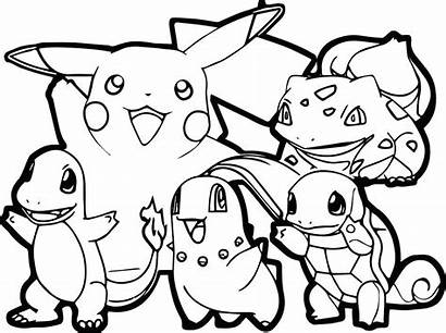 Pokemon Coloring Pages Legendary Printable Getcolorings