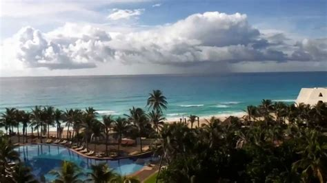Cancun Grand Oasis Caribbean Sea Thunderstorm Mexico 2012
