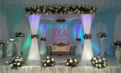 Stage Decoration Simple Christian Decorations Planner Kerala