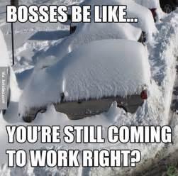 Snow Memes Bosses Be Like Snow Meme