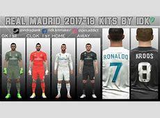 دانلود کیت پک فصل 201718 رئال مادرید برای PES 2017