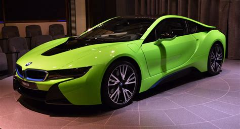 Ever Seen A Lime Green Bmw I8 Before?