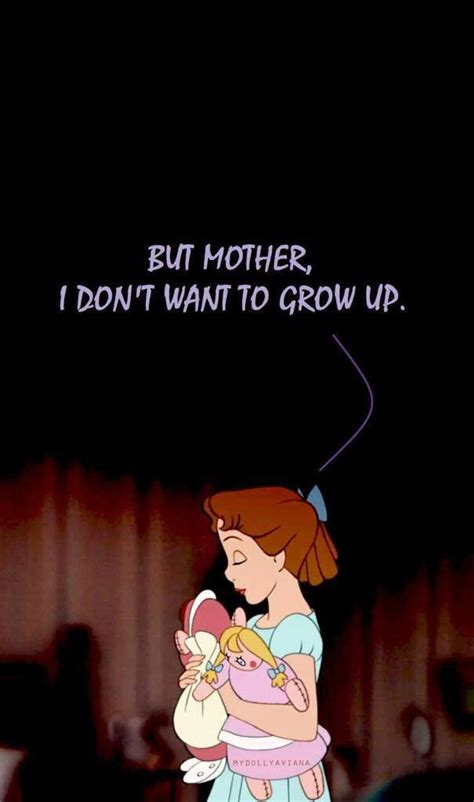 Peter Pan Quotes Wendy Growing Up Archidev