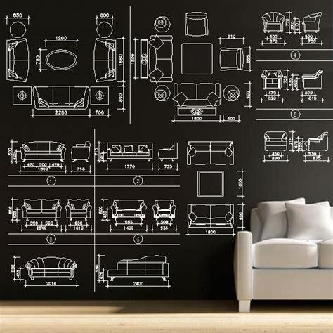 sofa cad blocks set cad design cad drawings