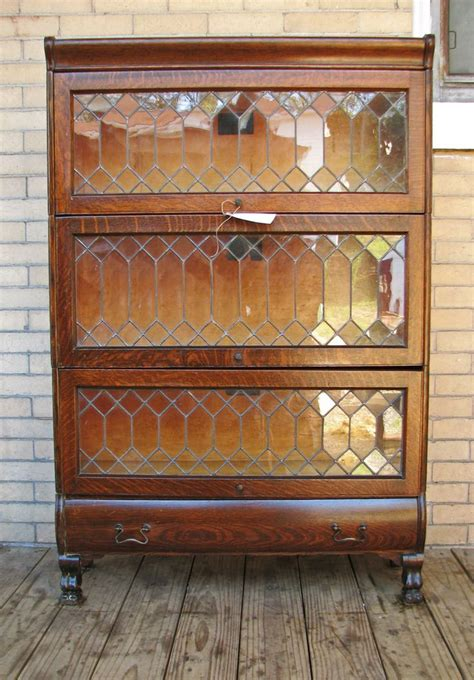 Antique Barrister Bookcase  Woodworking Projects & Plans