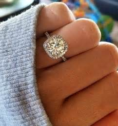 cushion engagement ring 20 brilliant cushion cut wedding engagement rings