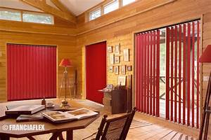 Rideaux Lamelles Verticales : stores bandes verticales ~ Premium-room.com Idées de Décoration