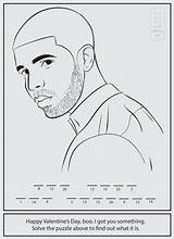 Drake Coloring Clipart Bun Rap Pages Colouring Activity Sheets Books Rapper Hop Hip Printable Activities Colour Jumbo Adults Aubrey Improvement sketch template