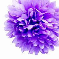 Lavender Tissue Paper Pom Pom
