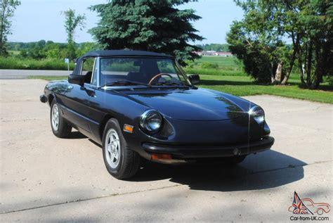 1982 Alfa Romeo Spider Great Condition