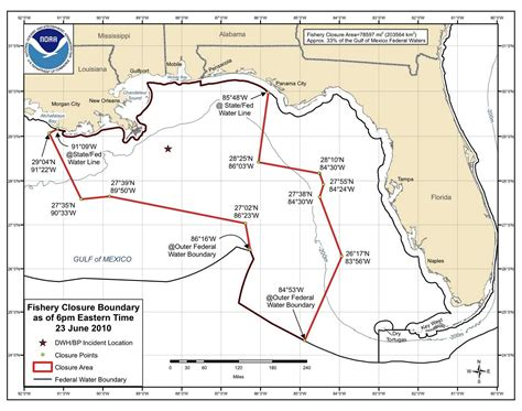 federal florida fishing waters gulf closed department sole mexico area map reduced wants noaa asking secretary environmental protection scale michael