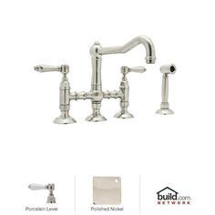 Rohl 3 Leg Bridge Faucet by Country Kitchens Faucets And Bridges On