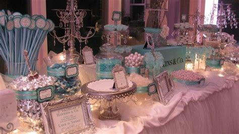 tiffany buffet table ls 17 best images about candy buffet tables on pinterest