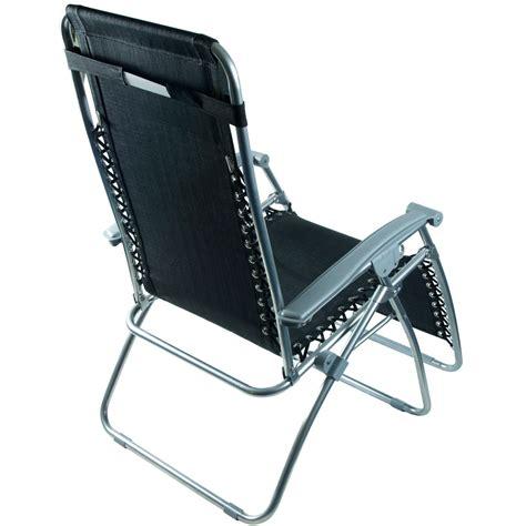 2 x azuma zero gravity recliner garden relaxer lounge