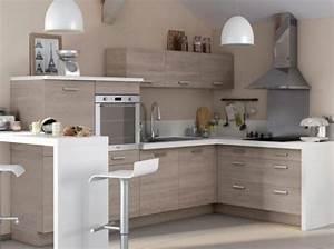 45 cuisines modernes et contemporaines avec accessoires for Deco cuisine avec salle a manger moderne bois clair
