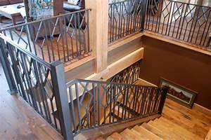 Stone Wood & Steel - Interior Railing - Contemporary