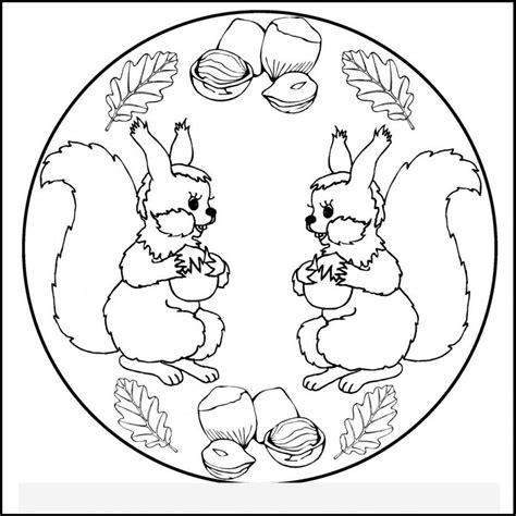 eichhoernchen mandalas szinezogyujtemeny toerpe csoportnak