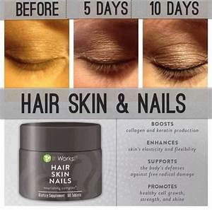 It Works Hair Skin And Nails Produces Awesome Results