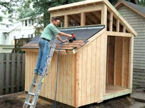 Step By Step Deck Building Instructions by Building A Clerestory Shed Video Home Plans And More