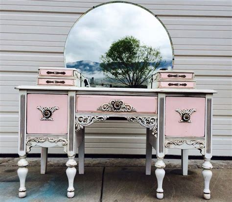 my pink vanity lovely pink and white antique vanity general finishes