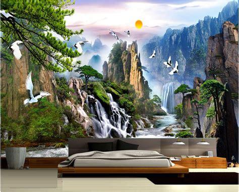 china landscape photo wallpaper natural scenery mural