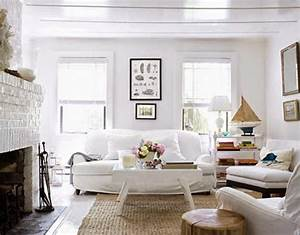 Cottage living room furniture white for White living room chair