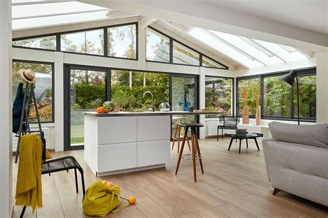 foto verande vie veranda v 233 randa et pergola extension bois et