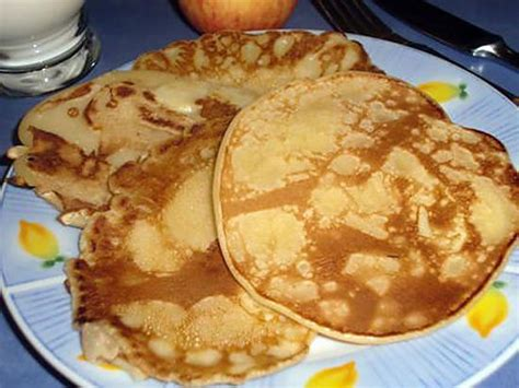 pate a crepe epaisse recette de pancakes ou cr 234 pes 233 paisses aux pommes