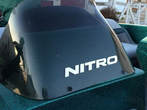 Nitro Bass Boat Replacement Windshield by 1995 Nitro 180 Fs Slight Restoration Fixup Cleanup