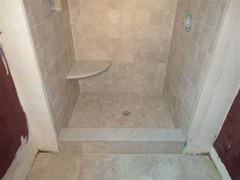 complete tile shower install part 6 installing the mosaic complete tile shower install