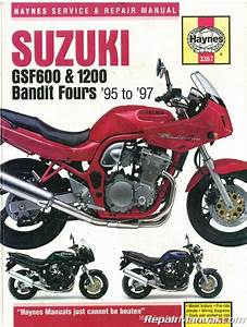 1991 1997 Suzuki Gsf40gsf400s Bandit Service Repair With Parts Diagrams