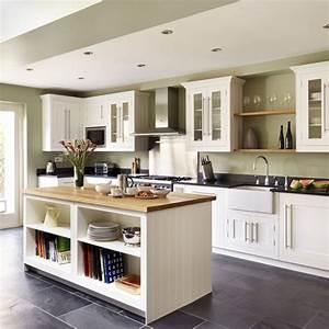 Shaker-style kitchen island Kitchen island ideas
