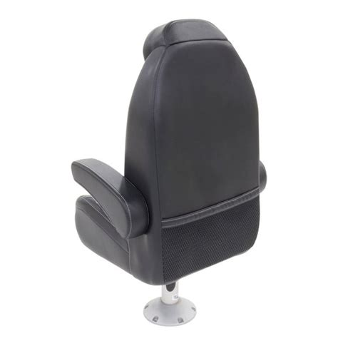 lippert components high back helm seat with recline and