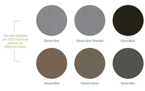 what color is zinc zinc the of metal roofing zinc roof costs