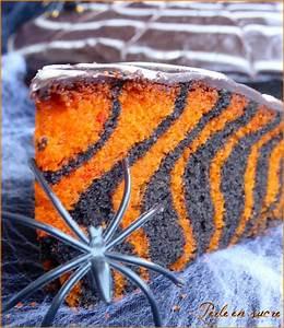 Gateau D Halloween : g teau d 39 halloween facile zebra cake perle en sucre ~ Melissatoandfro.com Idées de Décoration